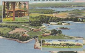 Observer Fresh Air Camp Aerial View, Near Charlotte, North Carolina, 1946 PU