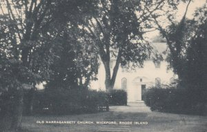 WICKFORD , Rhode Island , 1930s ; Old Narragansett Church