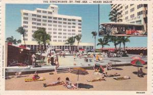 Florida Miami Beach Kenilworth By The Sea Hotel Curteich