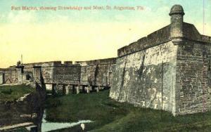Fort Marion St Augustine FL no stamp