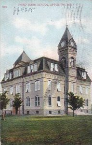 Wisconsin Appleton Third Ward School 1908