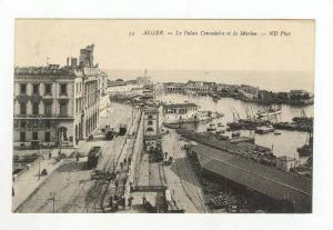 Le Palais Consulaire Et La Marine, Algiers, Algeria, Africa, 1900-1910s