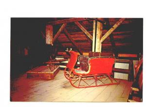 Old Sleigh Upper Canada Village Agriculture Vehicles Museum Cornwall, Ontario,