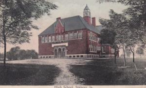 Iowa Spencer High School 1908