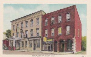 NAPANEE, Ontario, Canada, 1900-1910's; Hotel Paisley