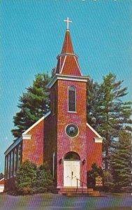 Maine Damariscotta Mills Saint Patricks Church