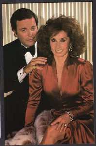 ROBERT WAGNER - STEPHANIE POWERS Actor Actress Movie Stars Chrome