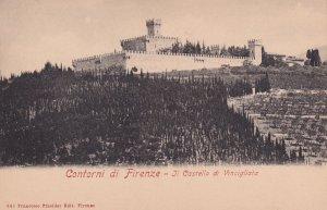 FIRENZE, Toscana, Itlay, 1900-1910's; Il Castello Di Vincigliata, Contorni Di...