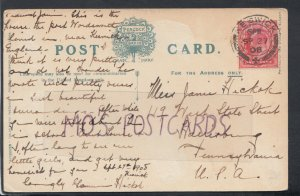 Family History Postcard - Hickok - Harrisburg, Pennsylvania, America  RF2283