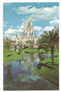 Disney World Cinderella Castle c. 1972 Chrome