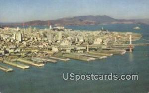 San Francisco, CA Postcard       ;       San Francisco, California Post Card