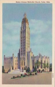 Oklahoma Tulsa Boston Avenue Methodist Church Curteich