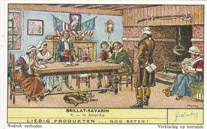 Liebig Trade Card s1726 Brillat-Severin No 4 In Amerika