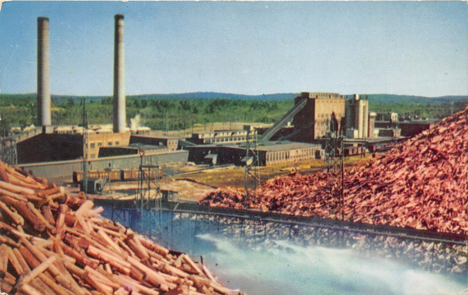 Millinocket Maine~Great Northern Pulp & Paper Mill~Lot of