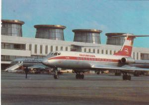 Interflug TU 134 airplane , 60-80s