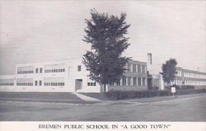 Indiana The Bremen Public Schools In A Good Town 1962