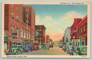 Corning New York~Lounge Bar @ Baron Steuben Hotel~Liquor Store 1939 Postcard