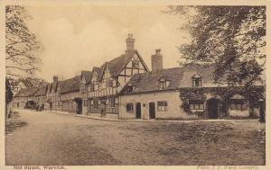 Peaceful Mill Street, Warwick, Warwickshire, England, United Kingdom, 10-20s