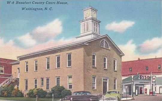 North Carolina Washington Beaufort County Court House