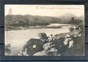 INDOCHINA TONKIN VIETNAM, LANG-SON - Ky-Cung River  1900's