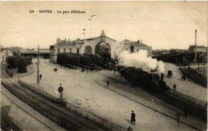 CPA Nantes - La gare d'Orléans (166145)
