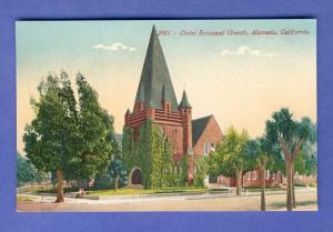Alameda, California/CA Postcard, Christ Episcopal Church