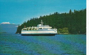 Ferry M V Queen of Sydney British Columbia