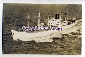 cb0656 - Dutch Rotterdam Lloyd Cargo Ship - Modjokerto , built 1946 - postcard