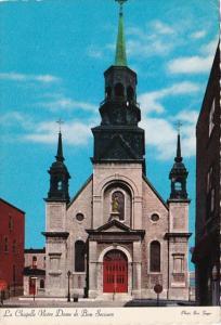 Canada Montreal Notre Dame De Bon Church 1984