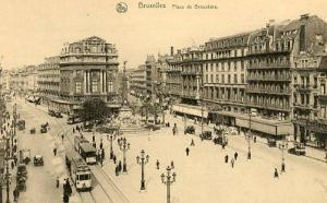 Belgium - Brussels. Broukere Square