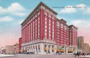 Michigan Grand Rapids Pantlind Hotel