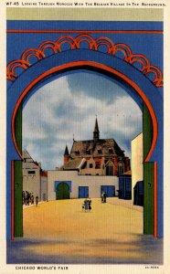 IL - Chicago. 1933 World's Fair, Century of Progress. Morocco Arch and Belgia...