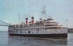 Oceanliner/Steamer/Ship, Canada Steamship Lines, Saguenay Cruise Ship, PU-1964