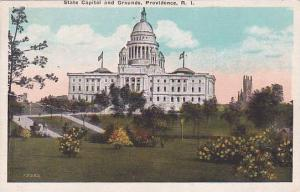 Rhode Island Providence State Capitol and Grounds