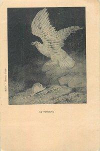 Postcard Art nouveau french military leader Napoleon le tombeau