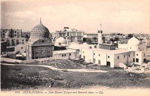Sidi Daniel Mosque and General View Alexandria Egypt, Egypte, Africa Unused