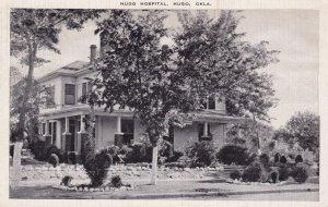 HUGO , Oklahoma , 1930-40s ; Hugo Hospital