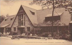 Pennsylvania Tamiment Administration Building Camp Tamiment Artvue