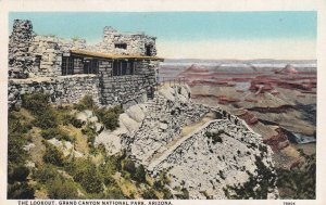 GRAND CANYON, Arizona, 1900-1910's; The Lookout, Grand Canyon National Park