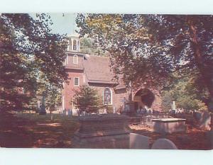 Unused Pre-1980 CHURCH SCENE Wilmington Delaware DE L3441