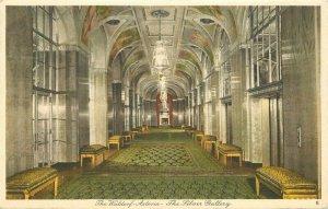 New York 1920s Waldorf Astoria Hotel Interior Tanner Postcard roadside 21-5632