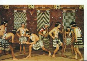 New Zealand Postcard - Maori Hand Game - Hei Tama tu Tama - Rotorua - Ref 20530A