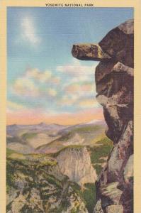 Yosemite National Park, Overhanging Rock, Glacier Point, 30-40s