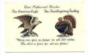 America's National Birds  The American Eagle & The Thanksgiving Turkey, Pre-1907