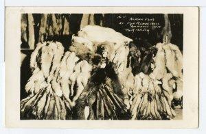 ALASKA FURS, AT FUR RENDEZVOUS, ANCHORAGE, 1934