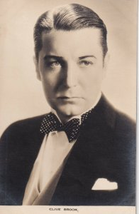 RP: CLIVE BROOK, English film actor, 1920s