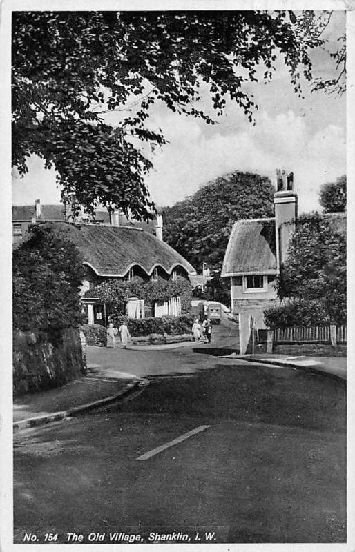 Isle of Wight Shanklin The Old Village Cottages