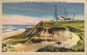 U.S. Wireless Station, North Truro, Mississppi Maine USA Postcards Postcards ...