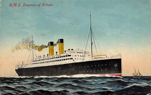 RMS Empress of Britain Canadian Pacific Steamship Co Ship 1913