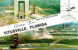 Florida Kennedy Space Center Greetings From Titusville